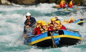 white water rafting in nepal