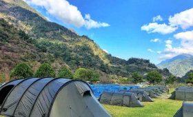 types of trekking camping